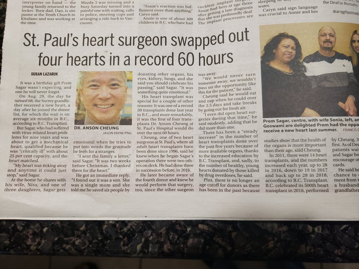 Amazing accomplishment! #organdonation @BC_Transplant @helpstpauls #cardiotwitter