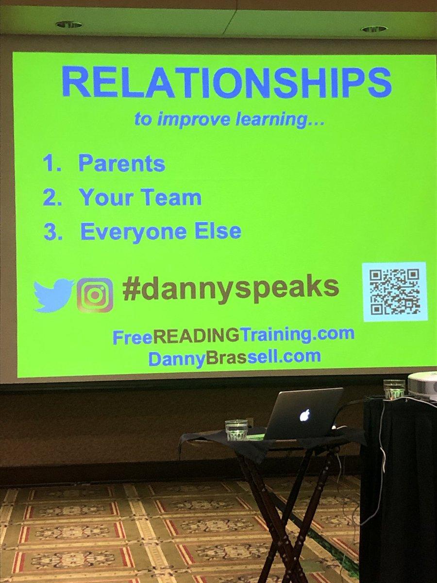 So important to build relationships! #dannyspeaks <br>http://pic.twitter.com/0Pi8hj4xFR