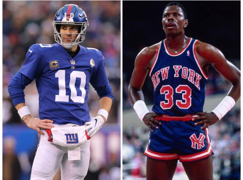 Who does New York embrace more? - #thankyoueli #elimanning #NewYork