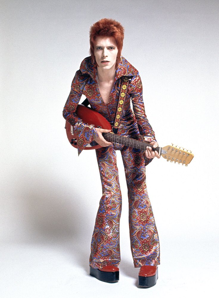 On this day in 1972, #DavidBowie introduced the #ZiggyStardust character to the world. 📷 Masayoshi Sukita