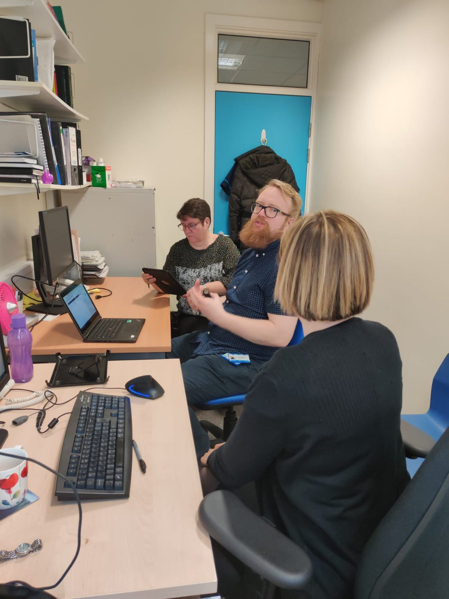 The eagerly anticipated #attendanywhere video consultation software training @LeedsHospitals hosted by #Implementationteam was a digital success in its first week @DitLeeds @marespadasirles