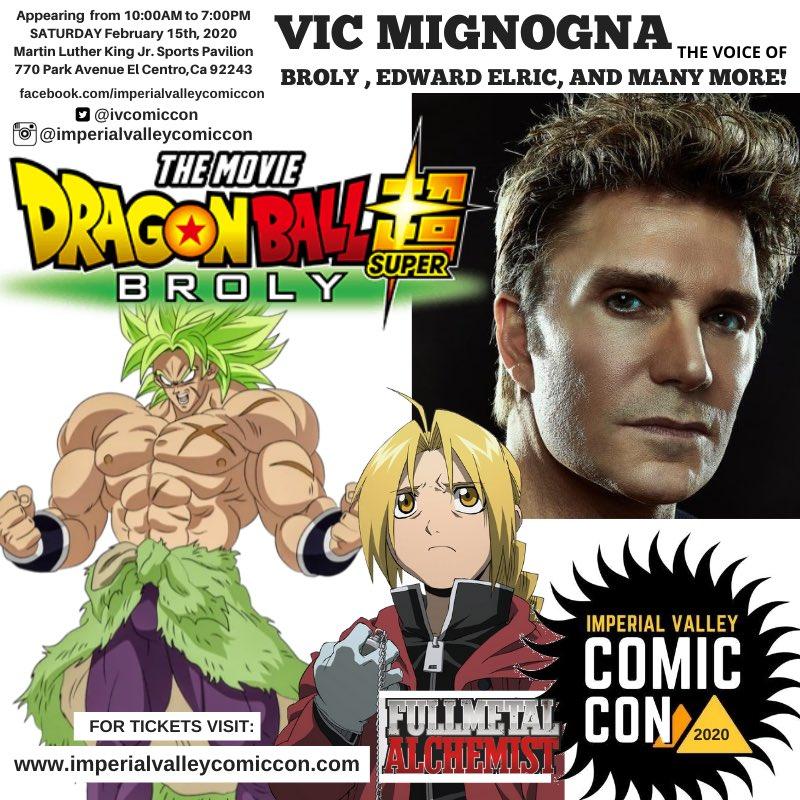 Voices vic mignogna Anime voice