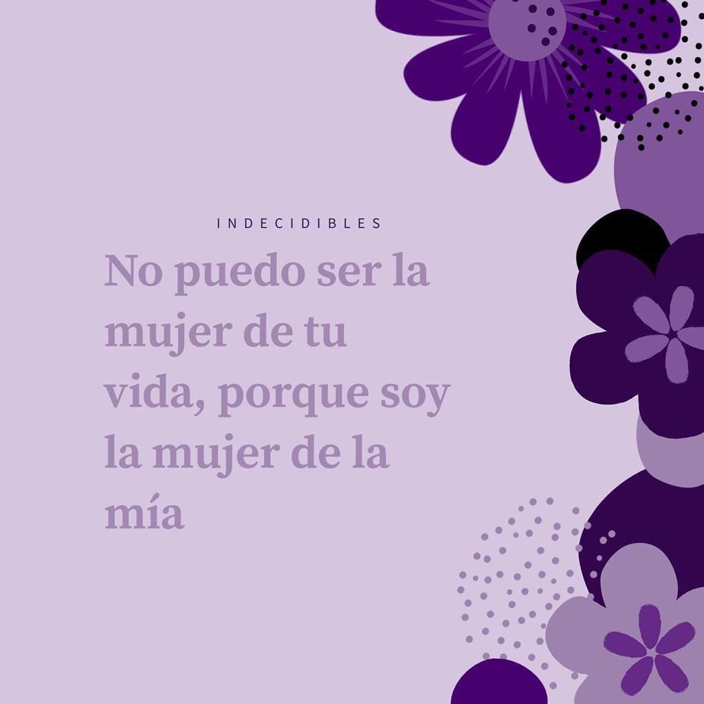 """""""No puedo ser la mujer de tu vida, porque soy la mujer de la mía"""". #quoteoftheday #feministquotes #feminismo #14febrero #14sororo #sororidad #feminista #juntassomosmasfuertes #sevaacaer #regalossanvalentin #regalosoriginales #amigas #hermanas #mujeresemprendedoraspic.twitter.com/2I3AJ0hJCn"""