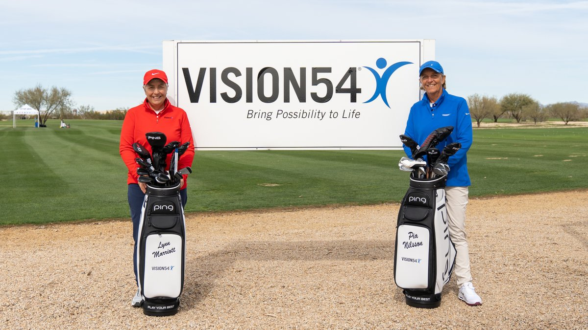 Co-founders of @Vision54, best-selling authors, and highly recognized instructors. We are excited to welcome Lynn Marriott and Pia Nilsson to #TeamPING as Brand Ambassadors. Learn more: https://www.vision54.com
