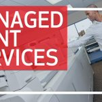 Image for the Tweet beginning: Our Managed #Print #Services use