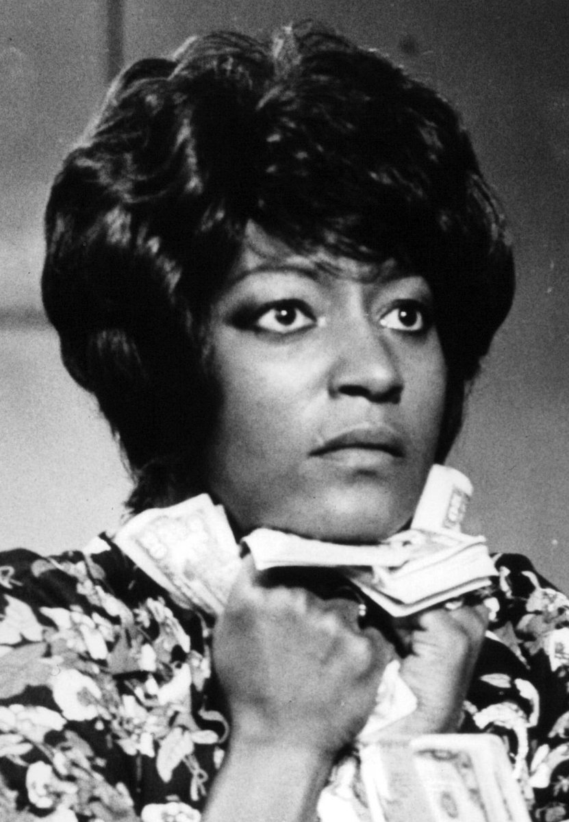 Acclaimed stage, TV and film actress Paula Kelly passed away yesterday 🙏🏾