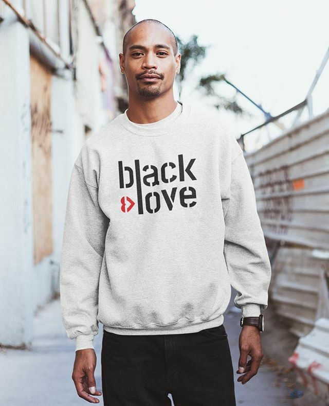 Love Black Love #blacklovemagic , give your opinion, tell someone about it ⁠ .⁠  Love Black Love sweater⁠ .⁠ .⁠ .⁠ .⁠ #blackloverocks #blackcouplesgoals #blackandproud #blackanbeautiful #blacklovematters https://ift.tt/2SwxnMk pic.twitter.com/6twKbWldHS