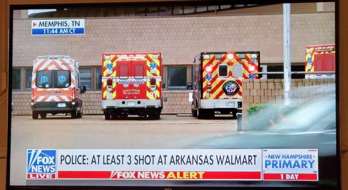 Walmart sufre atentado en Arkansas