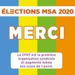 Image for the Tweet beginning: [ ÉLECTIONS MSA 2020 ] La