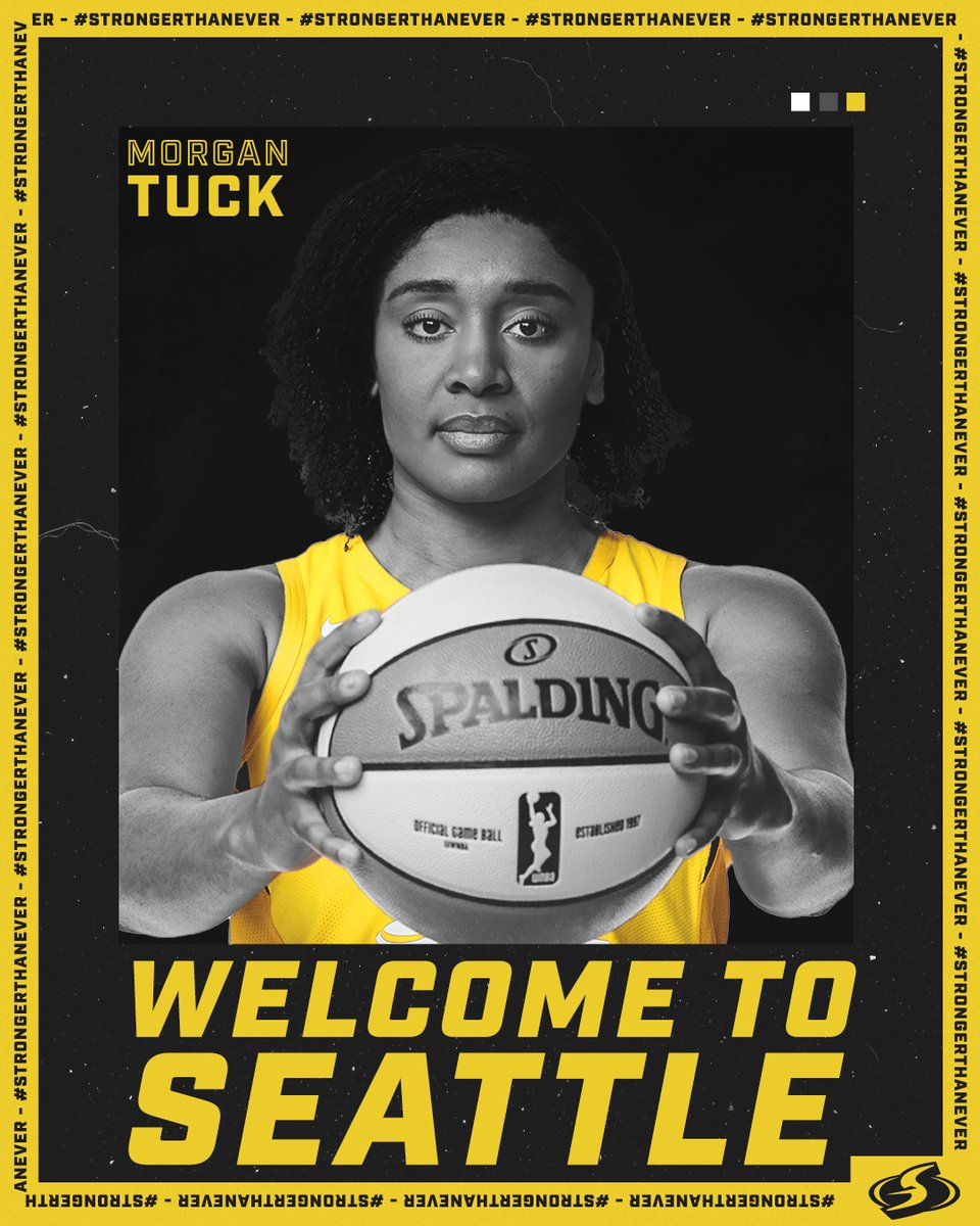 🚨 𝐎𝐅𝐅𝐈𝐂𝐈𝐀𝐋 🚨  Welcome to Seattle, @M_Tuck3 !!👊  Full Story ⬇️ http://bit.ly/WelcomeMorganTuck …  #StrongerThanEver