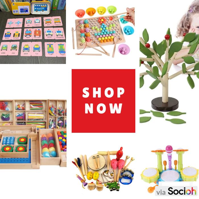 Shop the product: 1. Baby  Math Montessori Educatio - https://small.bz/ABJJuzF - $12.34 2. Brain Training Clip Beads - https://small.bz/ABJJuzE - $37.94 3. 15 types Music instruments kit - https://small.bz/ABJJuzD - $110.2 4. Baby Musical Drum Toy - https://small.bz/ABJJ..pic.twitter.com/DBRFFKAdCf
