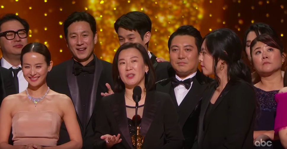 A belated and heartfelt congratulations to Director Bong Joon Ho and the talented cast and crew of Parasite!  #BongHive
