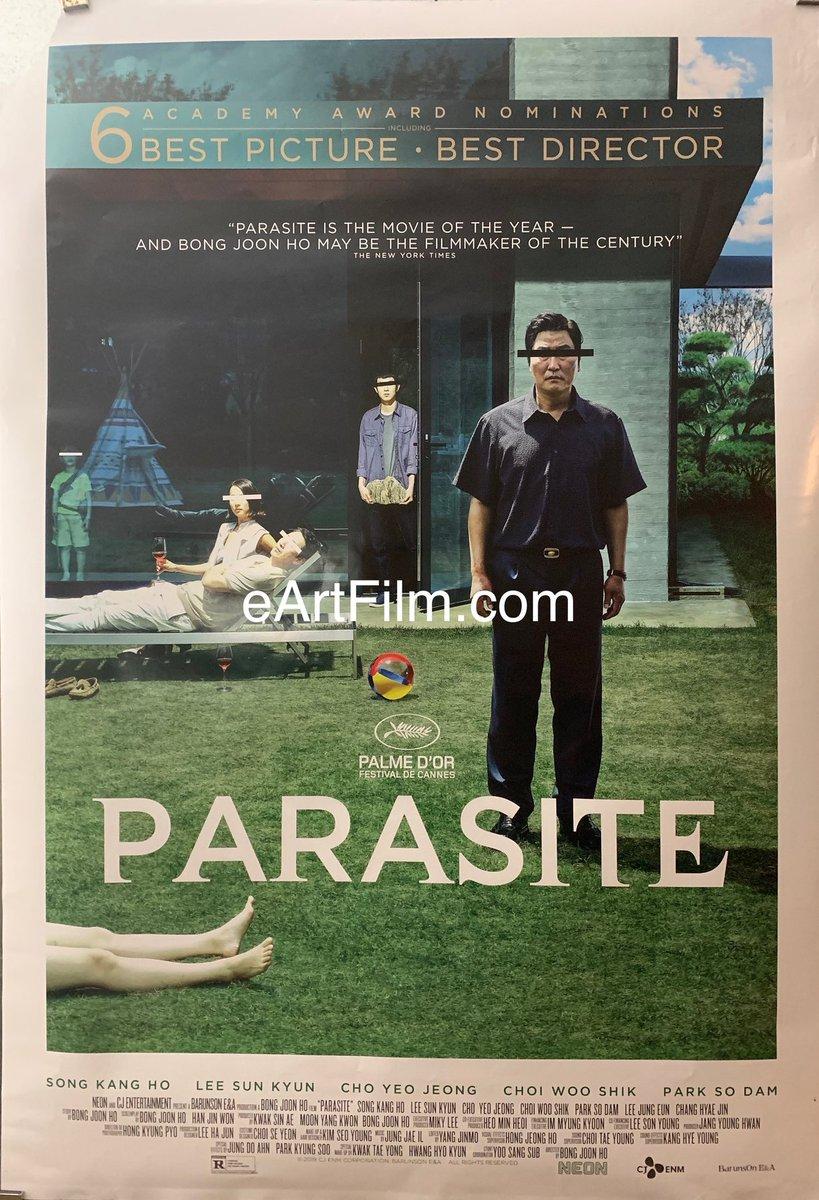 Now available at http://eArtFilm.com: #BongJoonHo's #AwardWinning #film #Parasite! https://eartfilm.com/products/parasite-2019-27x40-bong-joon-ho-wealth-envy-comedy-crime-drama?_pos=2&_sid=169cf1772&_ss=r… #BestPicture #BestInternationalFilm #BestDirector #BestOriginalScreenplay #movies #posters #film #cinema #movieposters #originalmovieposters http://eArtFilm.compic.twitter.com/oXXx55Rj6V