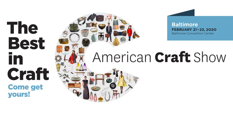 See the best in craft! #entertowin a Family 4-pack of tickets to the @craftcouncil's American Craft Show, February 21-23 in Baltimore! #MarylandMondays contest runs through Feb 16. Must be 18+ to enter. Winner notified via email. https://t.co/FeV7EnVVTb https://t.co/kN9BH4FPyS