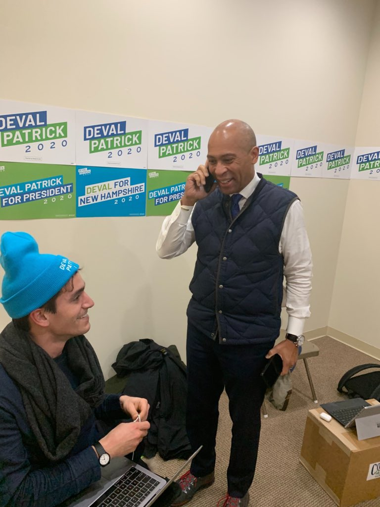 Elections are about talking to people. This afternoon I had the chance to speak with Ingrid and thank her for her support. She and I have a few more hours before the polls open in New Hampshire to move her undecided husband into our camp.