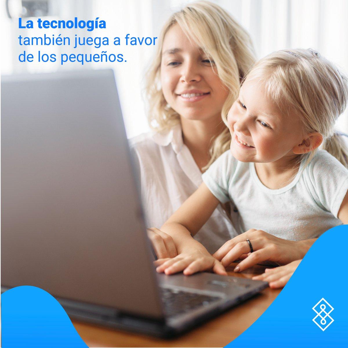Vivir en la era digital brinda increíbles ventajas para los pequeños, así como el fácil acceso a la información.   ¡Descubre los diferentes aspectos tecnológicos que juegan a favor para los niños!  Ingresa aquí para saber más ➡️https://t.co/hLfYNDBqXo https://t.co/yUEb2LPOa7