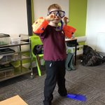 Image for the Tweet beginning: Dressing up for different habitats.