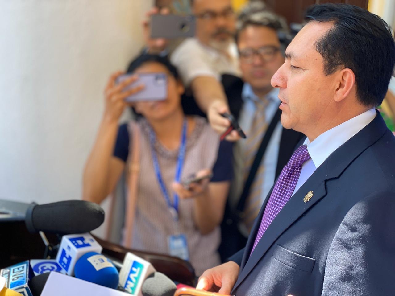 Mario Ponce: Invasión a la Asamblea Legislativa fue intento de golpe de Estado
