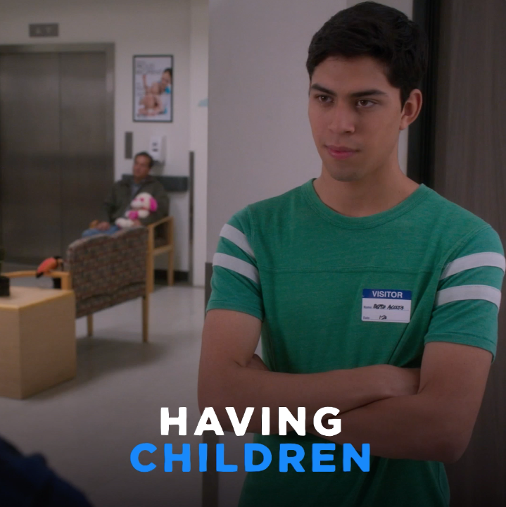 Mami would do anything for her children. #PartyOfFive