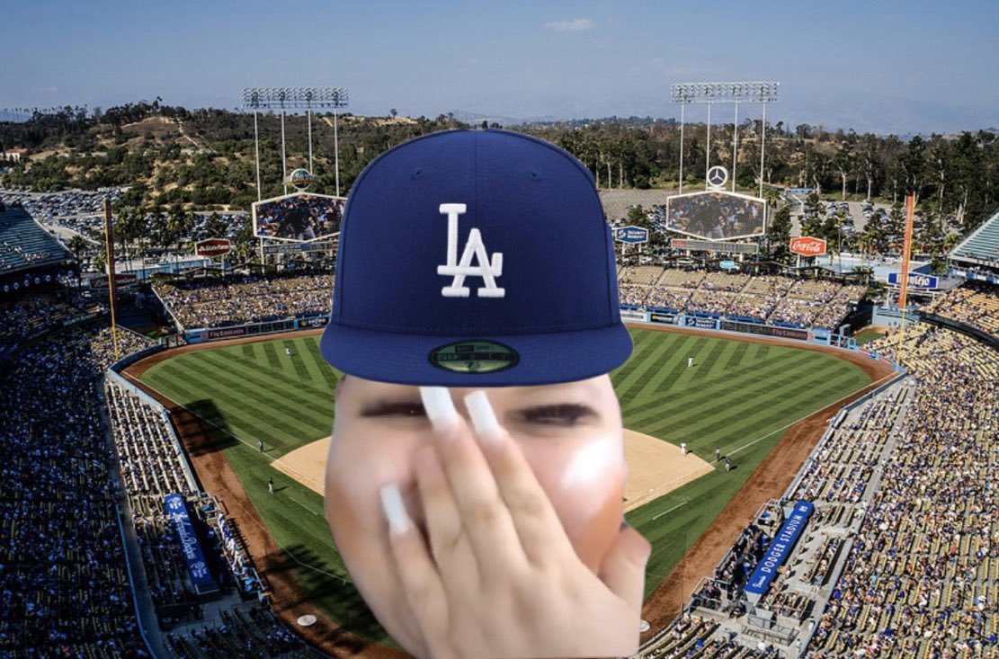 Let me find out you wanna take me to a dodger game dude
