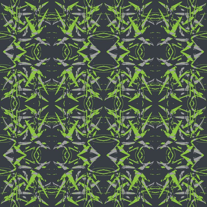 Download Free Pattern - Sharp Flower Free Nature Based Illustrator Pattern Download