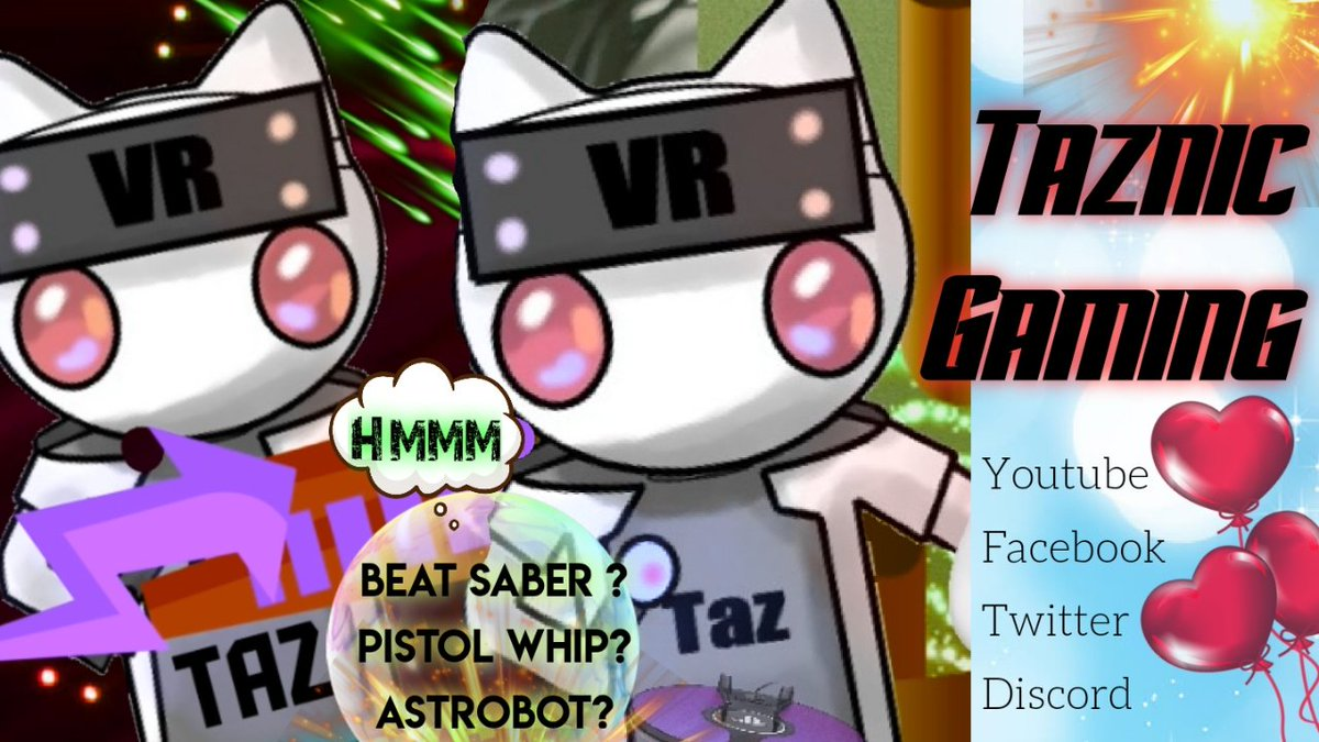 Just put this together folks hope you like it from Taz  #PSVR #OculusQuest #OculusQuestLink   Taz