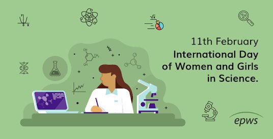 Tuesday the 11th 2020 is a popular day. Today is The International Day of Women and Girls in Science.