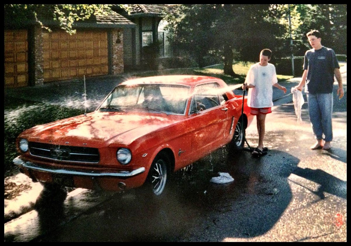 My first car! Loved it. Sold it. Regretted it. Searched for it. 20 years later...FOUND IT!!!  Now...I restore it.   #mustang #classiccars #restoration #classicrestorations #ford #carswithoutlimits #automobile #car #carlovers #auto #carspic.twitter.com/CaZhXAEjph