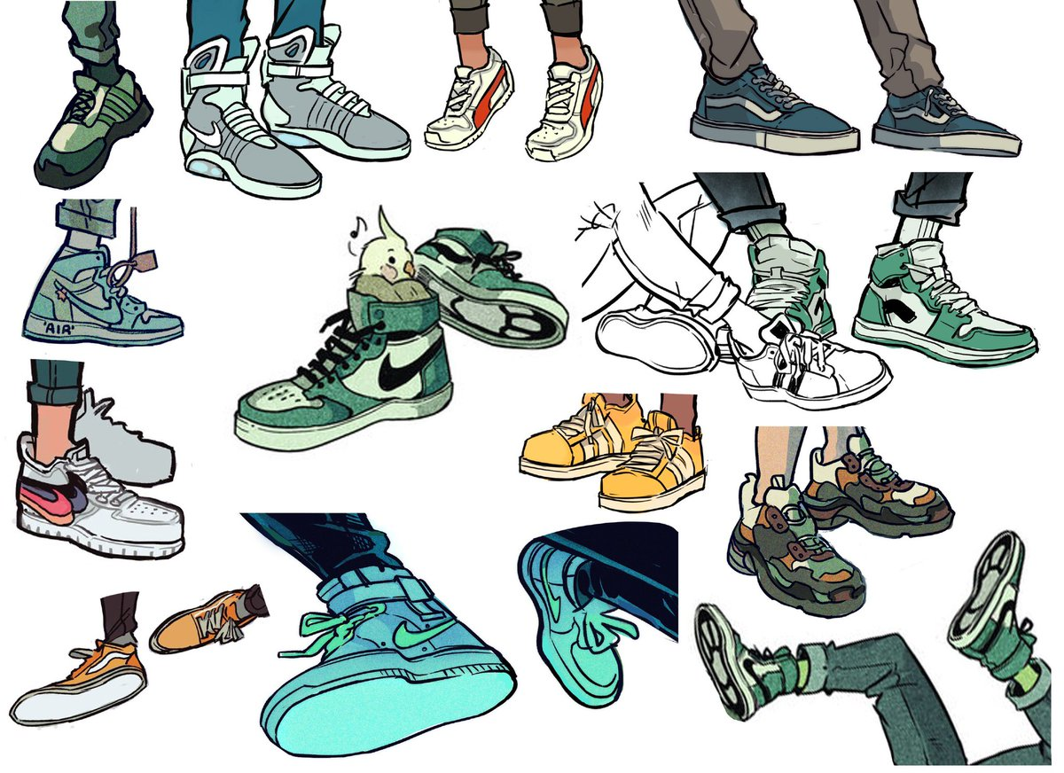 Picolo On Twitter I Really Like Drawing Shoes Https T Co Hkex7yvycq
