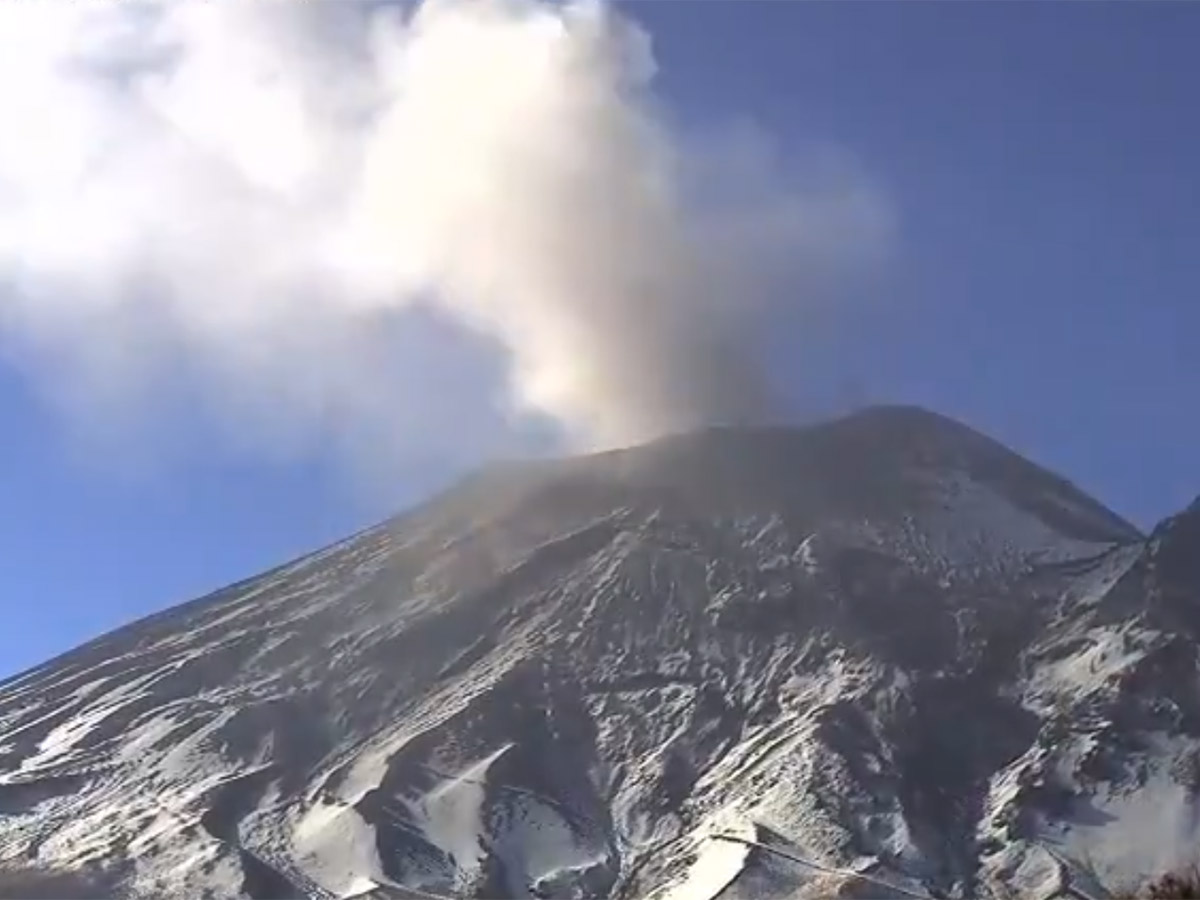 Popocatépetl está en Amarillo Fase 2
