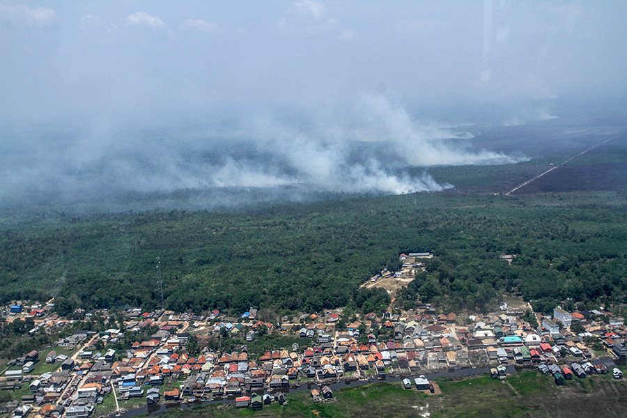 As 2020 fire season nears, Indonesian president blasts officials for 2019: news.mongabay.com/2020/02/indone…
