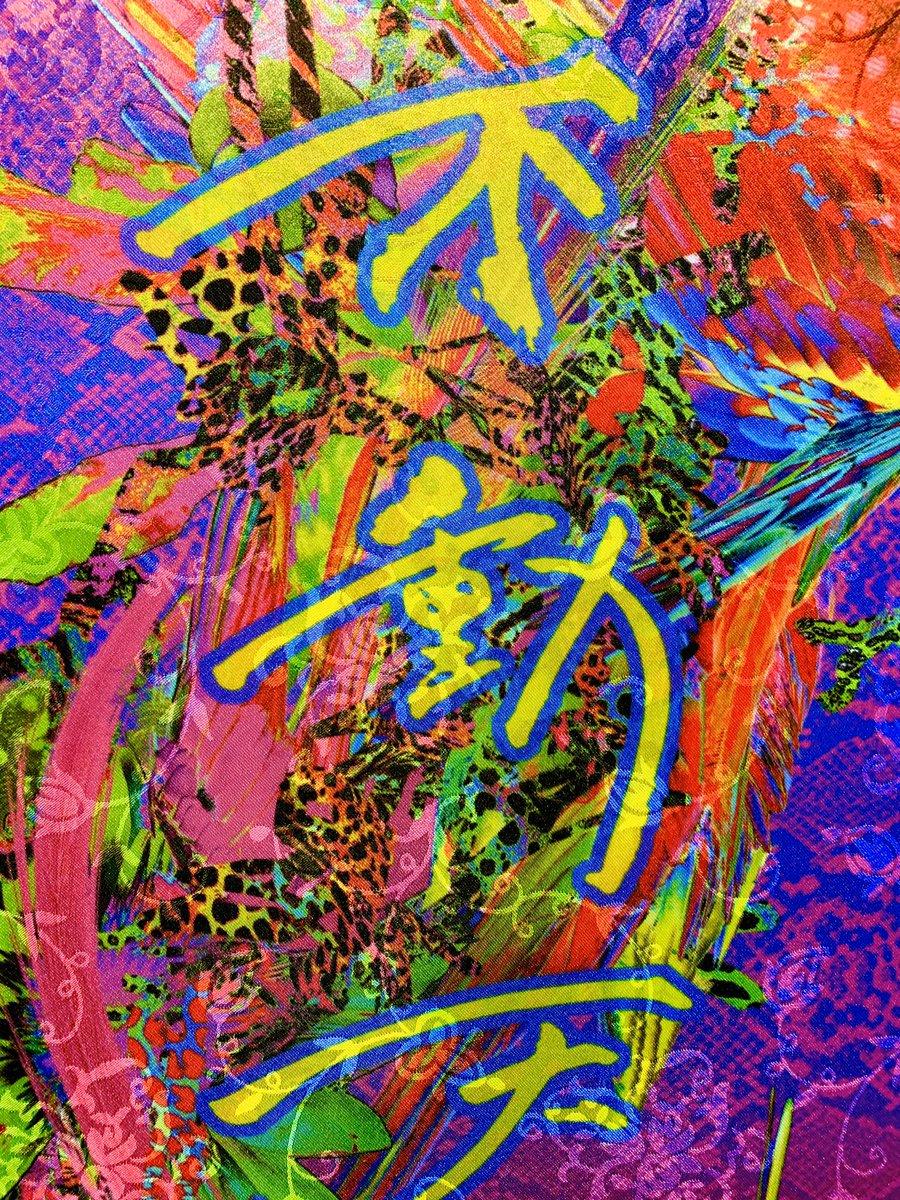 テクノロジーは僕の身体性を拡張させることができるのですっ☆  #maekawakunio #前川多仁 #染織 #染色 #textile #textiledesign #textileart #テクノロジー #テクノロジーアート #technology #technologyart pic.twitter.com/pDF1RXB9ht