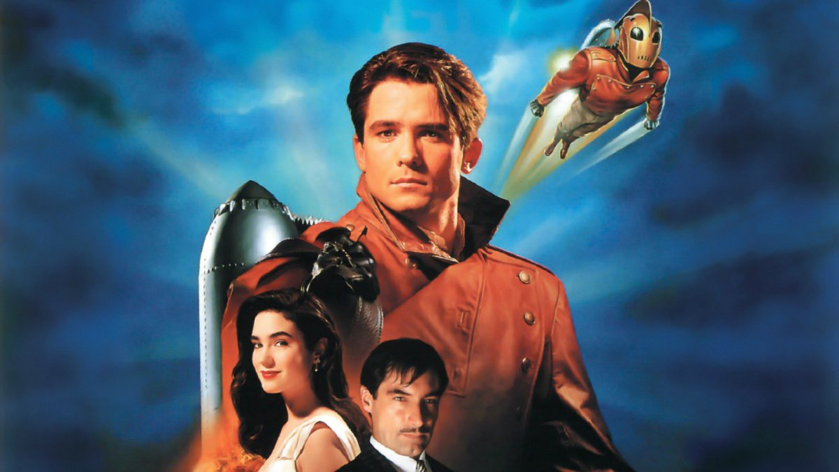#ComicBooks #Superheroes #Movies  Yeah, I just love #TheRocketeer.   It's classic Hollywood Noir, a timeless love story,  a good guys vs. bad guys background, a hero coming into his own.  Just an excellent film. pic.twitter.com/X1B1VtcM5v