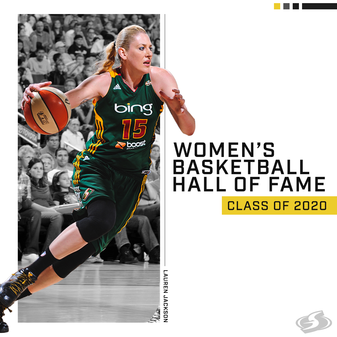 🐐Congrats to @laurenej15 on being selected to the @WBHOF Class of 2020! 🐐  Full Story ⬇️ http://bit.ly/LJSwinHOF