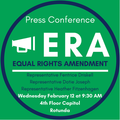 Join us this Wednesday at 9:30 for a bipartisan press conference about the #EqualRightsAmendment in the #FloridaCapitol. The #ERA is not a #Democrat or #Republican thing, it's not a feminist or non-feminist thing, it's an #equality thing.  #TeamDotie