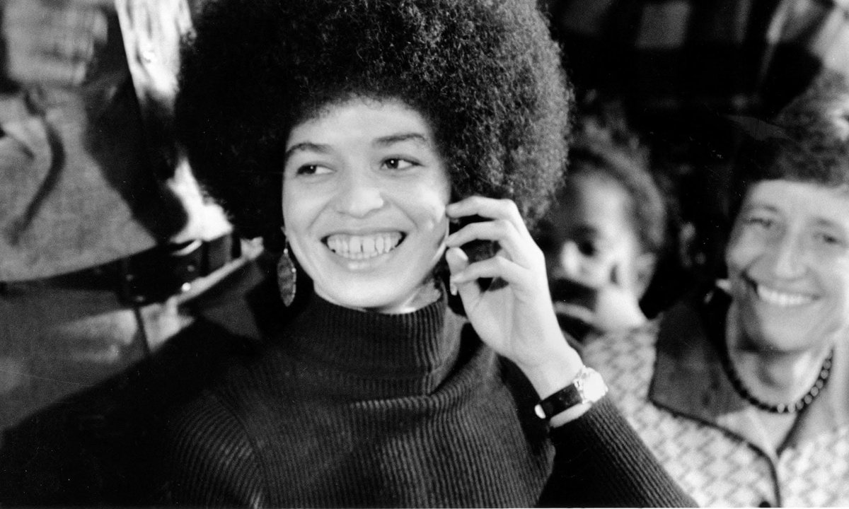"""I am no longer accepting the things I cannot change. I am changing the things I cannot accept."" ―Angela Davis #BlackHistoryMonth"