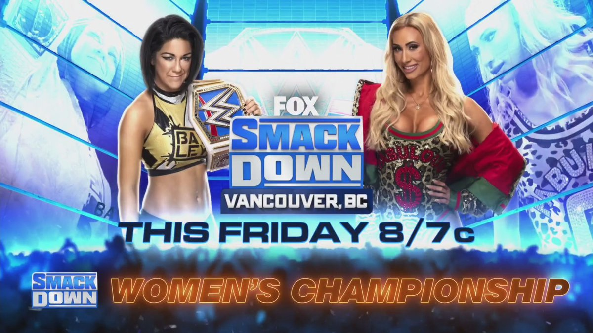 WWE Confirms Women's Title Match For Friday Night SmackDown
