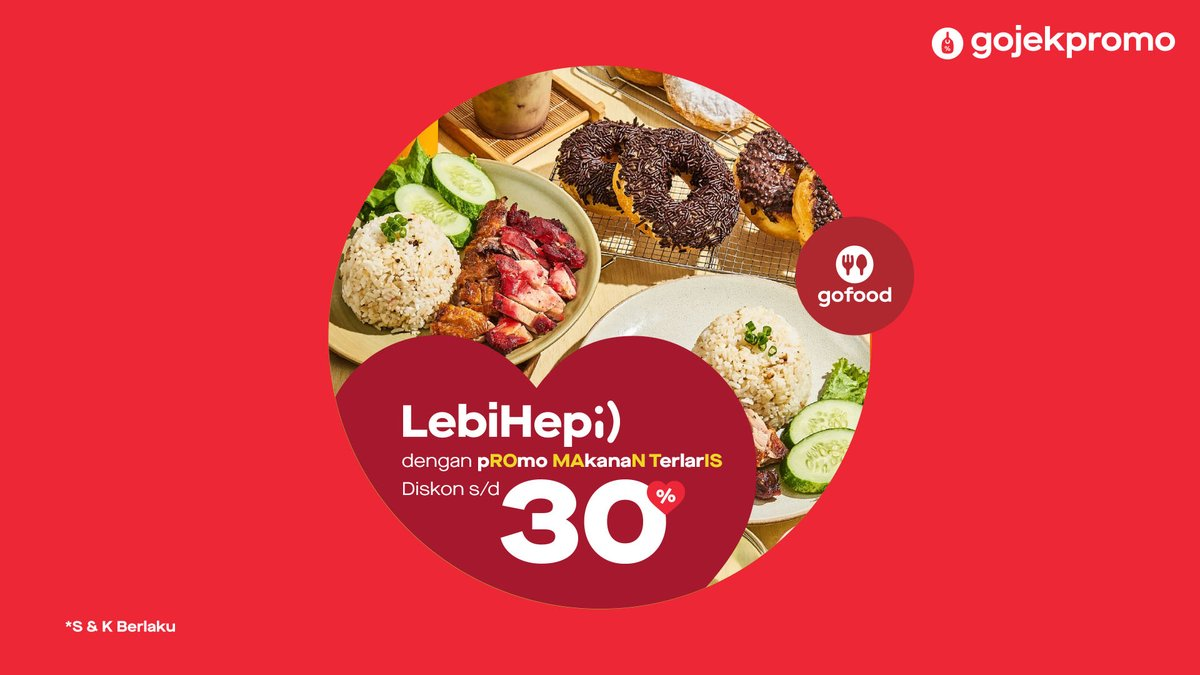 Gojekpromo No Twitter Pesen Yang Romantis Yuk Di Gofood Itu Loh Promo Makanan Terlais Dengan Diskon S D 30 Bisa Banget Untuk Pesen Makan Sendiri Berdua Atau Pesenin Makan Untuk Si Kesayangan Promo