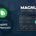 Image for the Tweet beginning: .@PeercoinPPC SegWit Support⛓️  We are glad