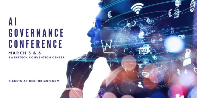 Registration now open for conference on #AIGovernance on 5/6 March at Lausanne's @EPFL_en - will serve as starting point for pilot projects aimed at delivering policy frameworks in selected areas of applied AI (how about #sanctions?) @ETH_en @reghorizon http://www.reghorizon.com/eventspic.twitter.com/qdywRKrqyw