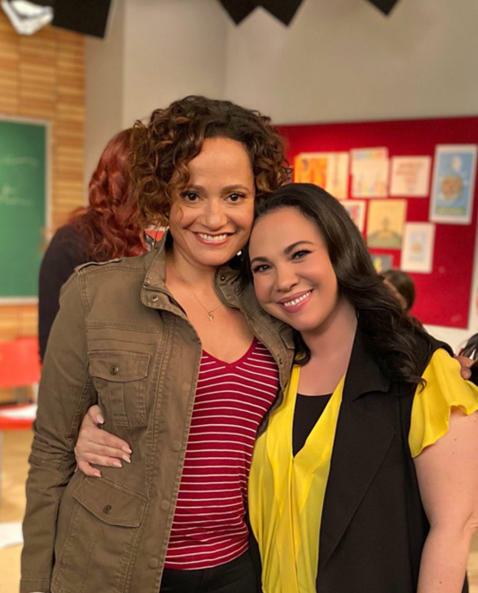 She's baaaaaack!! @itisIjudyreyes in the house, y'all! ❤️ @OneDayAtATime