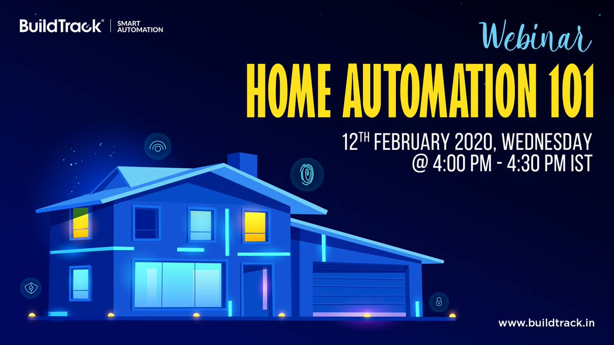 Attend our FREE webinar which provides a simple, realistic perspective on the basic components of Home Automation  technology https://www.buildtrack.in/webinars/home-automation-101… #BuildTrack #SmartAutomation #SmartHome #HomeAutomation #IoT #SmartSolutions #FreeWebinar #Technologies #SmartFeatures pic.twitter.com/vD6XAd9BDH