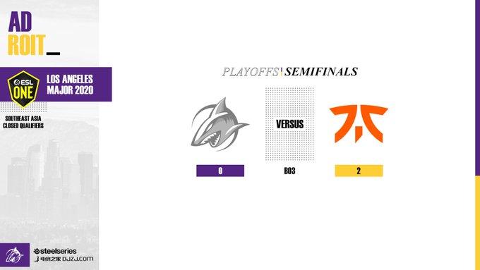 Team Adroit vs Fnatic ESL One LA