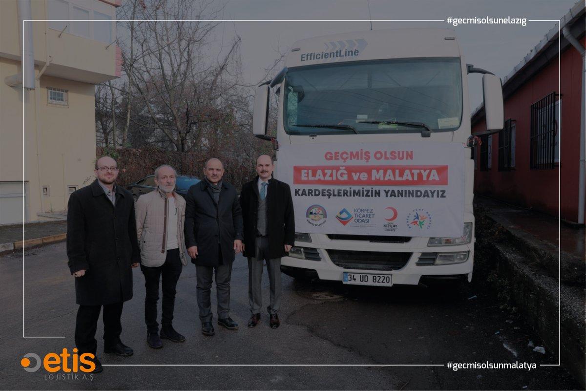 Elazığ depreminin ardından yaraları sarmak için imkânlarımızı seferber ettik. Elazığlılar Derneği,İstanbul Tüm Muhtarlar Federasyonu,ASKON,Körfez Belediyesi, Körfez Ticaret Odası, Kızılay Körfez Şubesi ve Körfez Kent Konseyi'nin yardım malzemelerini Elazığ'a ulaştırdık. https://t.co/tckNiRQDgP