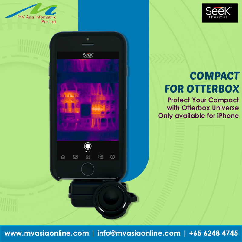 MV ASIA introducing you to Seek Thermal Imaging cameras  COMPACT FOR OTTERBOX : Protect Your Compact with Otterbox Universe Only available for iPhone  http://www.mvasiaonline.com   |  info@mvasiaonline.com  | +65 6248 4745  #MVASIA #SeekThermal #Compactforotterbox #Compact #Singaporepic.twitter.com/40AISdPlSz