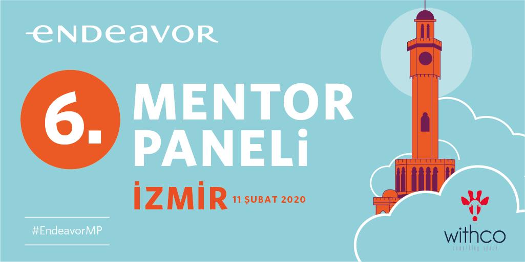 Ankara, İzmir ve çevre şehirlerdeki girişimcilere yönelik olarak düzenlenen ve Endeavor Seçim Süreci'nin şehir bazlı ilk aşaması olan Mentör Paneli 7. kez İzmir'de @withcoworking ev sahipliğinde gerçekleşiyor! Girişimcilere başarılar🍀 #EndeavorMP