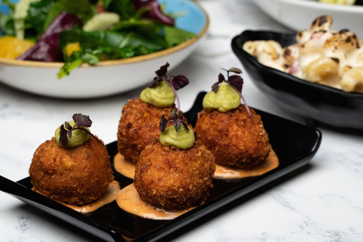 Our Prawn & Lobster Croquettes, making Tuesdays bearable since '11.