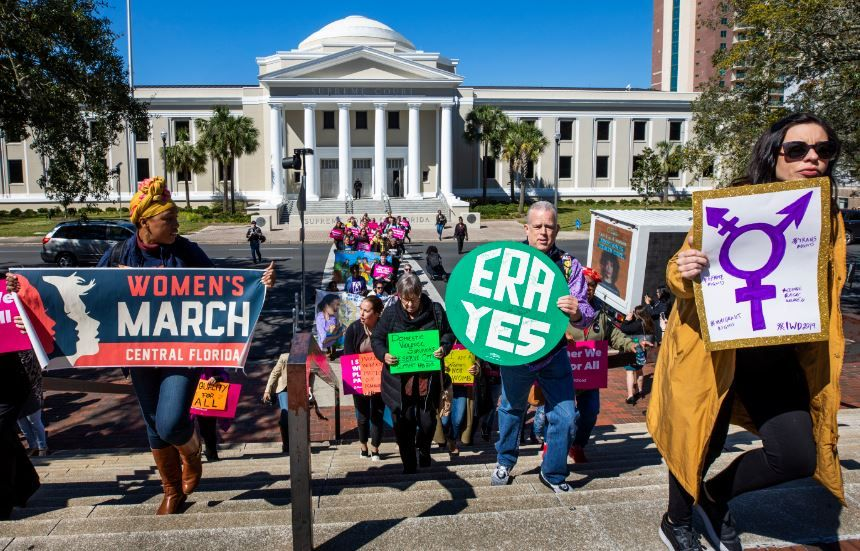 We've got a bipartisan push from women in the Florida legislature calling for #EqualRights. The question is, will the men that rule the #Florida legislature he the call? #TeamDotie among the inquiring minds #PerSister #LadyLegislatorsMatter https://buff.ly/2H8ZKeb