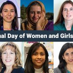 Image for the Tweet beginning: It's International Day of Women