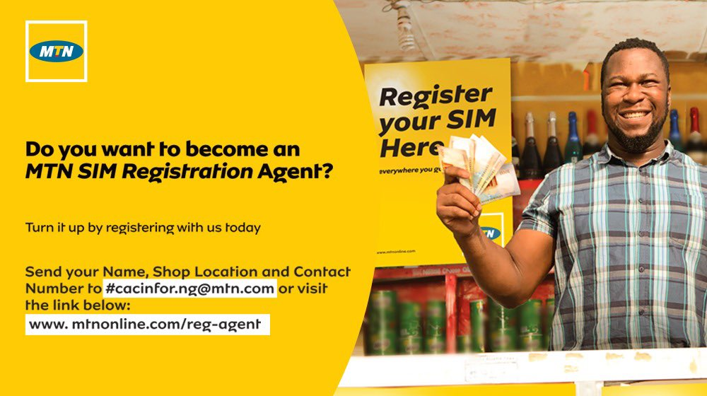 Image result for how to become mtn sim registration agent